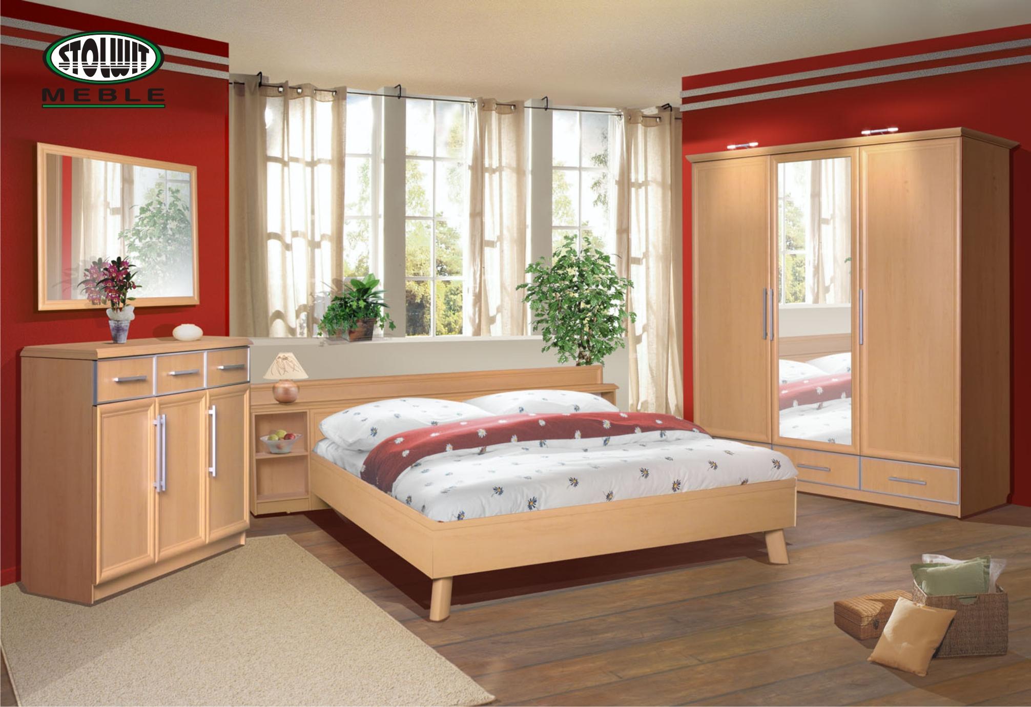 Łóżka do sypialni 2  Meble Kępno